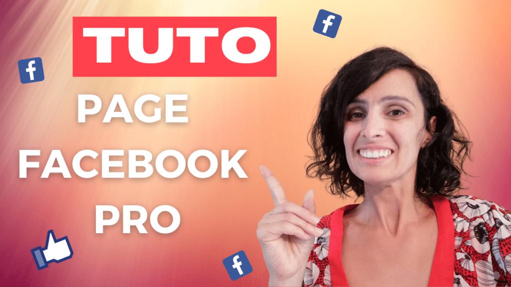 Tuto page facebook pro